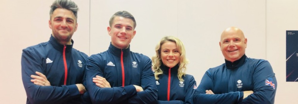 TeamGB Interview with Amy Connell and Joe Kellaway